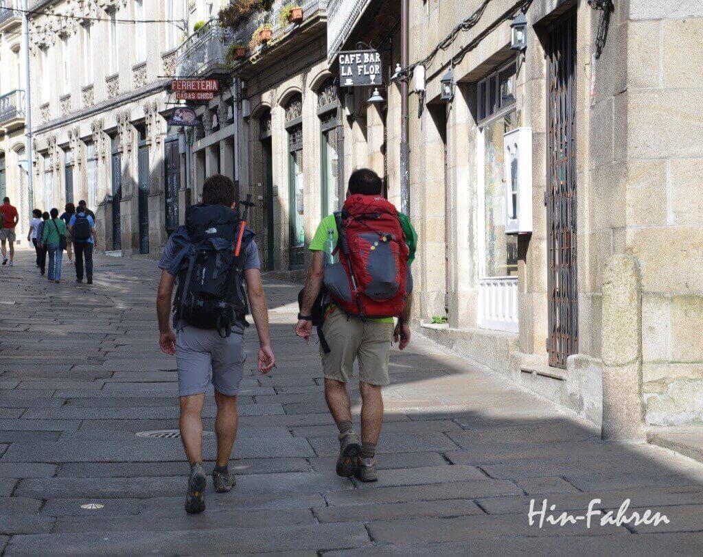 Pilgerweg nach Santiago mit Wohnmobil #Hin-Fahren 'Pilgerweg