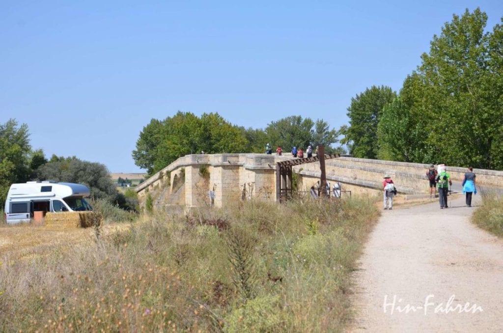 Wohnmobil-Rundreise Spanien Pilgerweg mit Wohnmobil