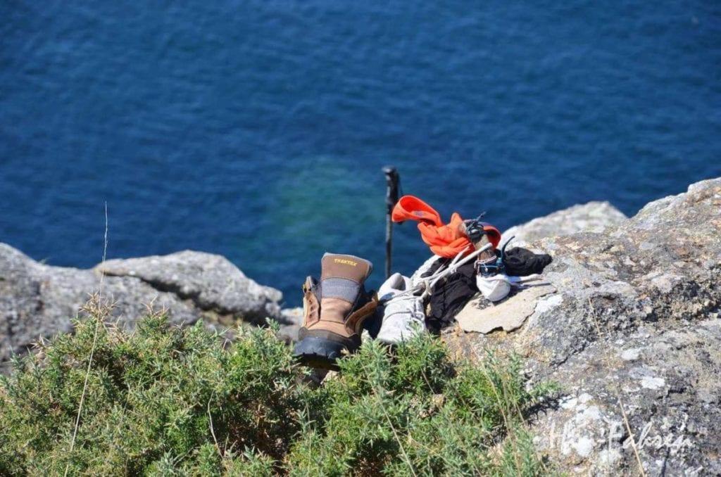 Ende des Pilgerwegs in Spanien: #Hin-Fahren #Pilgerweg