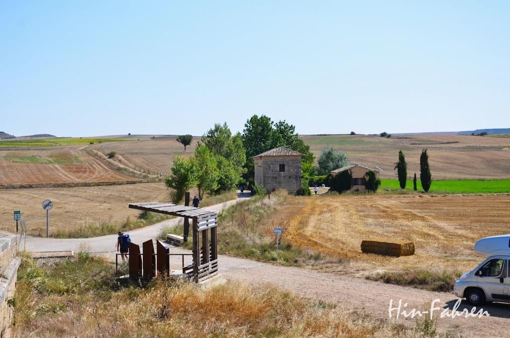 Mit dem Wohnmobil auf dem Pilgerweg in Spanien #HinFahren #Pilgerweg