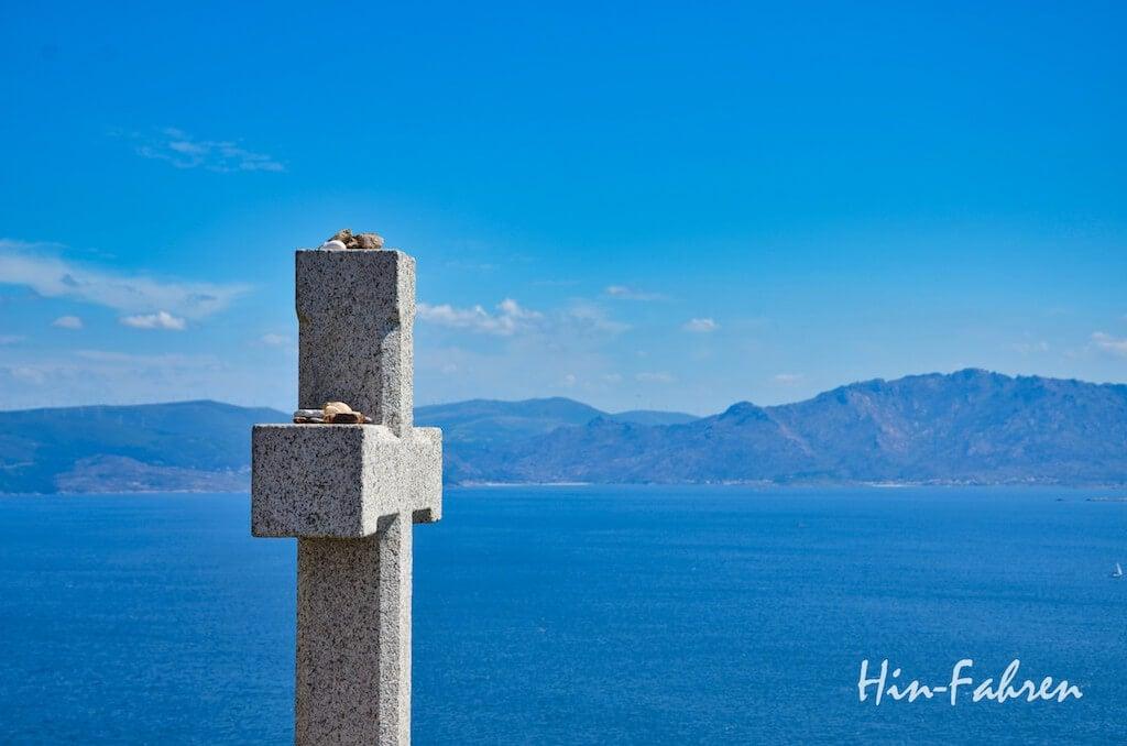 Ende des Pilgerwegs am Cabo Finistere #Hin-Fahren #Pilgerweg