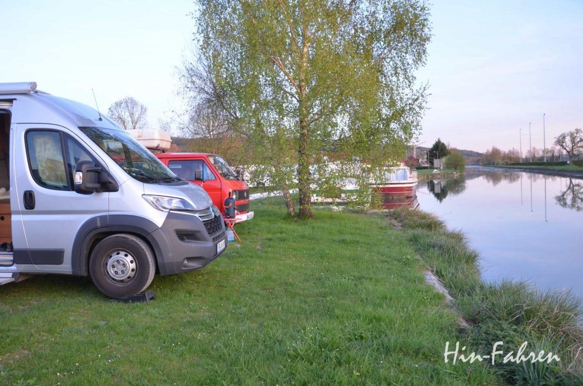 Mit dem Wohnmobil in die Normandie: Wohnmobilstellplatz unterwegs in Frankreich
