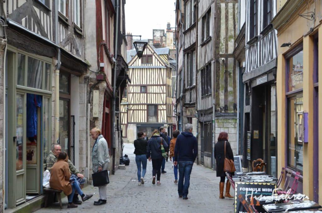 Rouen Altstadt Fachwerk