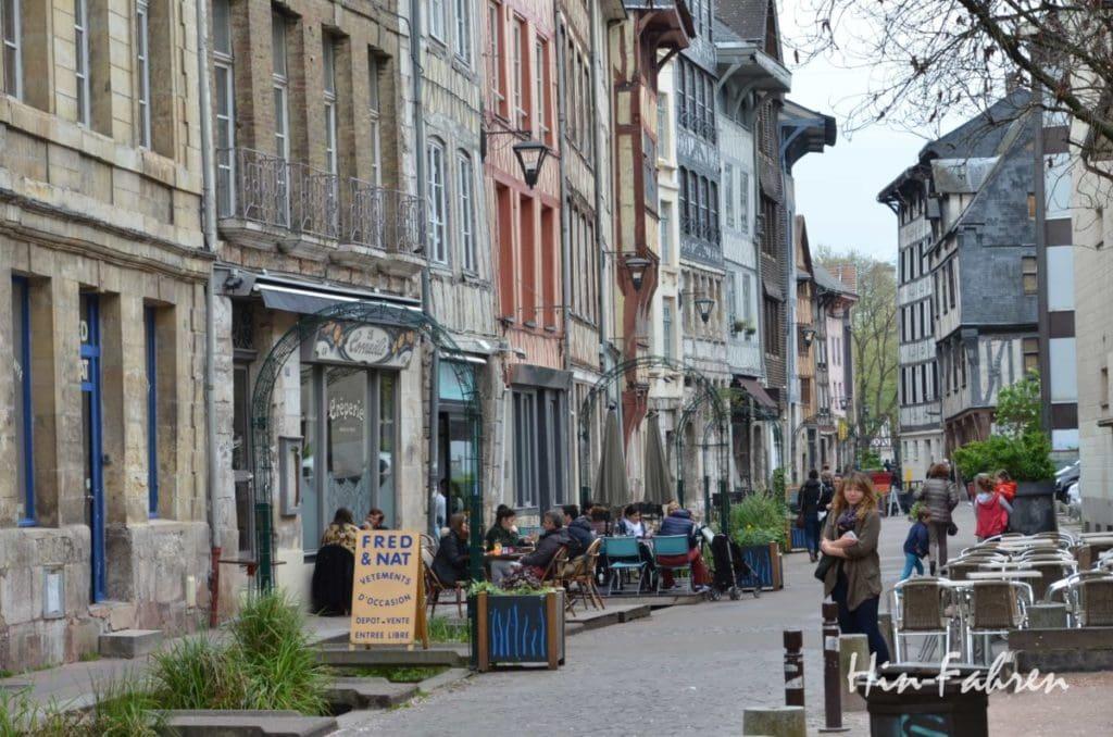 Camping-Urlaub in der Normandie: #Rouen #Altstadt