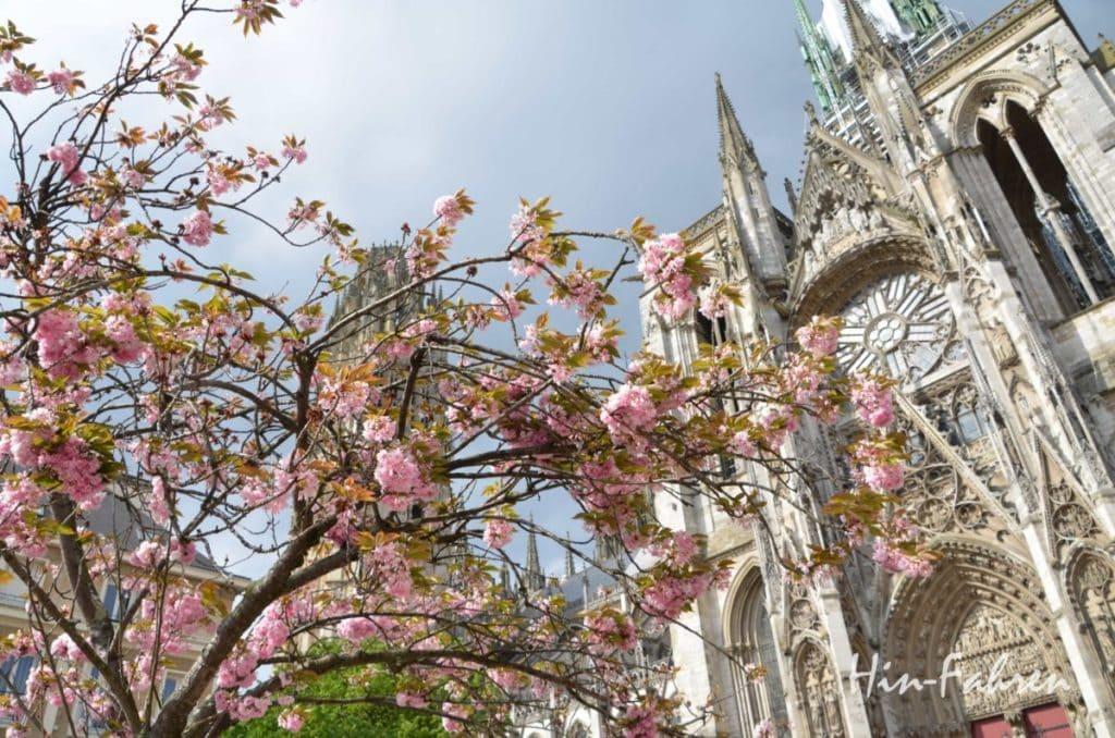 Erstes Ziel ist die Kathedrale von Rouen