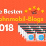 """Hin-Fahren wurde aufgenommen in """"Die besten Wohnmobil-Blogs 2018"""""""
