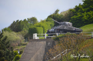 Panzer am Gold Beach