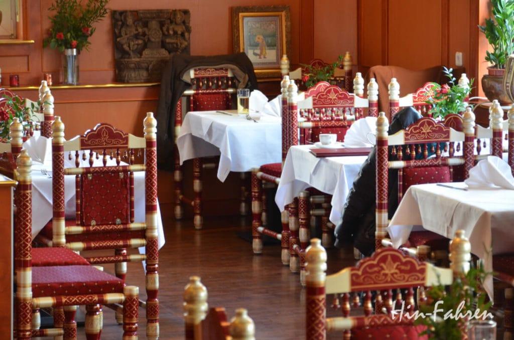 Gastraum im Indian Palace Speyer
