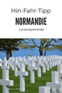 Wohnmobiltour an der Küste der Normandie Teil 4: Pin für Pinterst