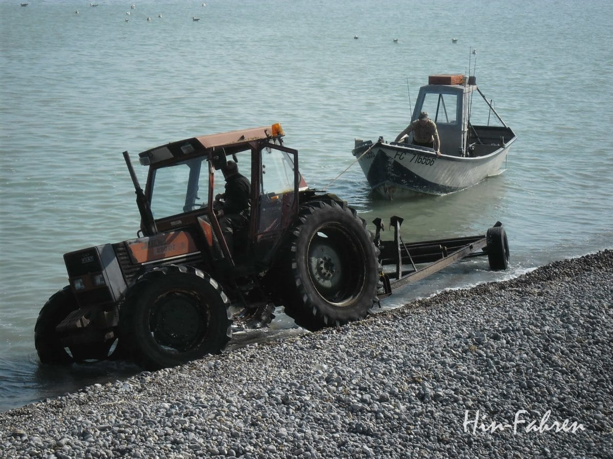Fischer an der Alabasterküste #Fischer #Normandie