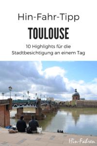 Reisetipp Toulouse: Stadtbesichtigung an einem Tag mit 10 Höhepunkten, inklusive Campingplatzbeschreibung #Toulouse #Stadtbesichtigung #hinfahren #Südfrankreich #Garonne