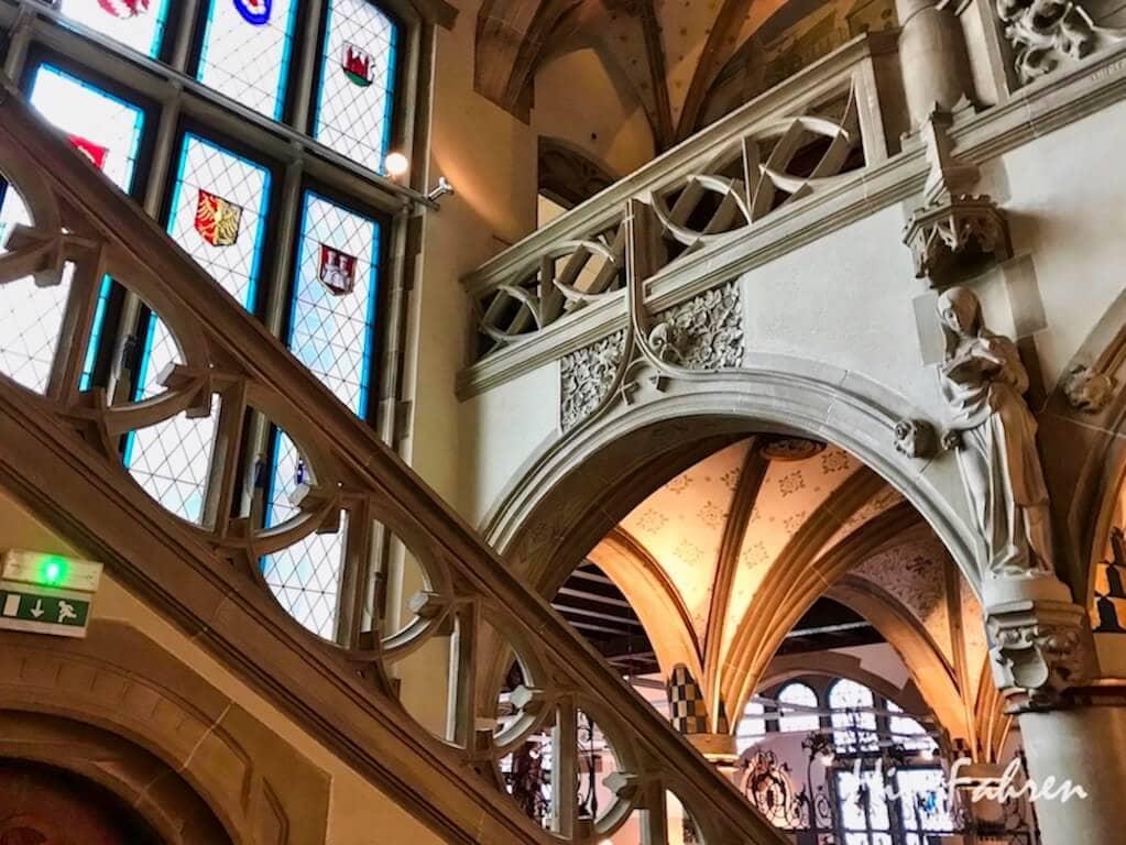 Das Treppenhaus im historischen Museum Haguenau