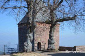 Die Engelkapelle auf dem Odilienberg