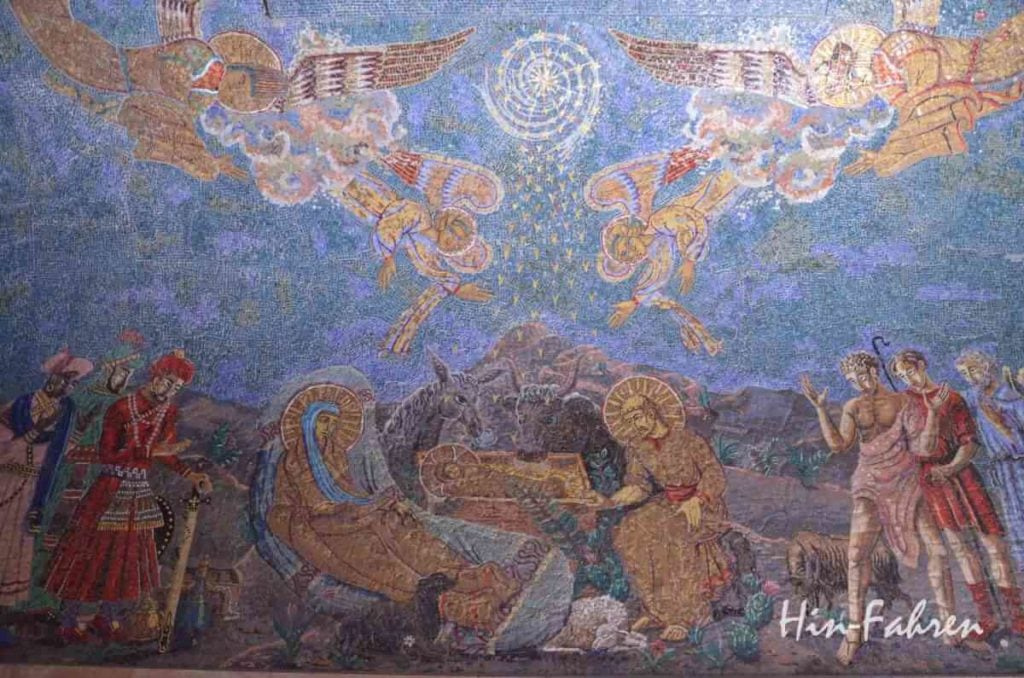 Maria, Josef, Christuskind, Ochs und Esel