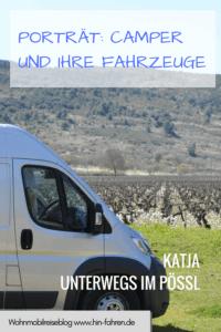 Camper und ihr Wohnmobil: Katja unterwegs im Kastenwagen Pössl Roadcamp R #Kastenwagen #Fahrzeugwahl #Wohnmobilreise