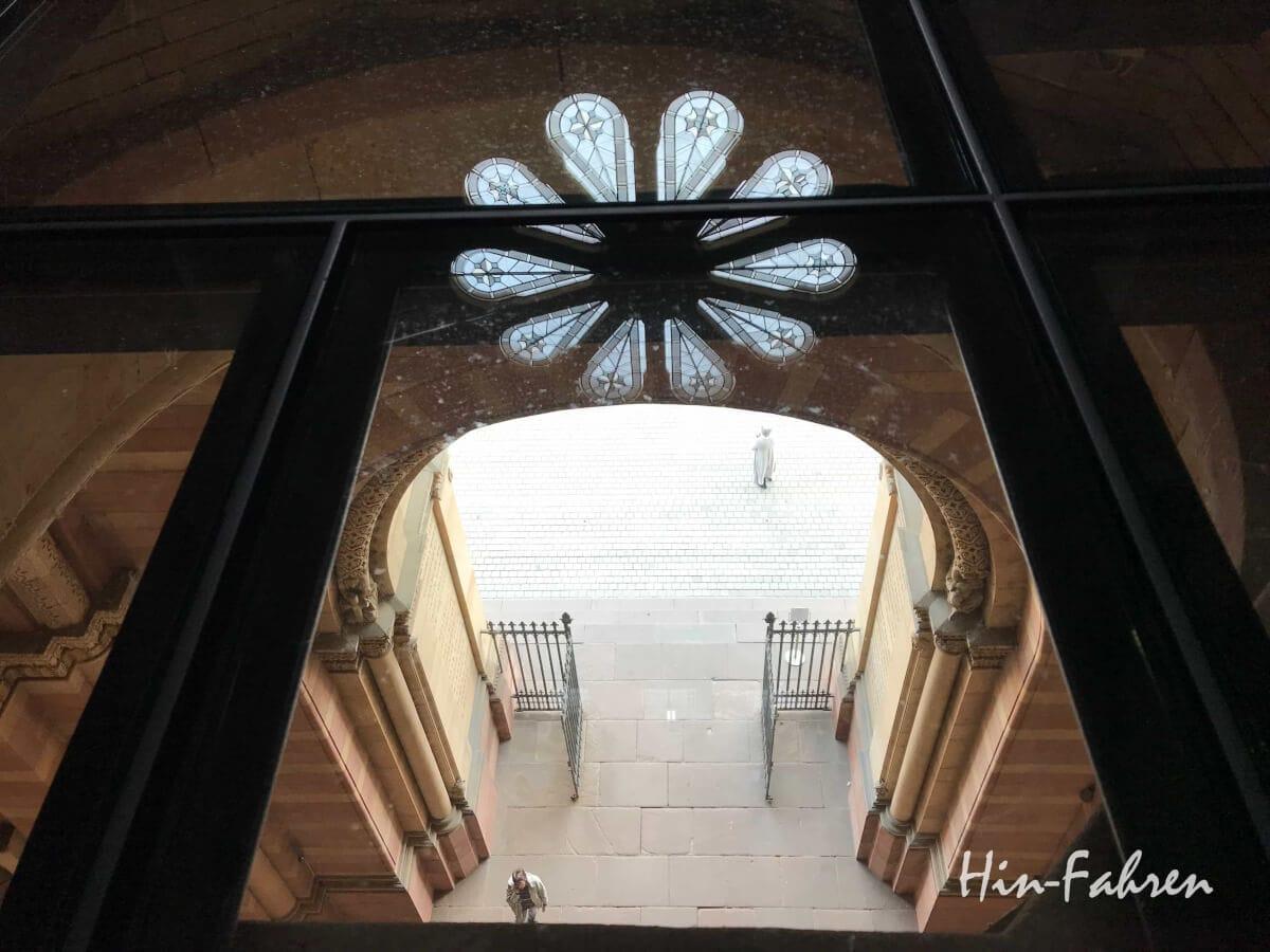 Interessanter Blick in die Domvorhalle
