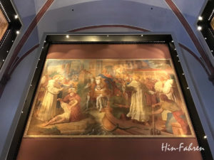 Fresko des Malers Johann Baptist Schraudolph