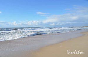 Lieblingsziele mit dem Kastenwagen sind immer wieder Stellen am Meer