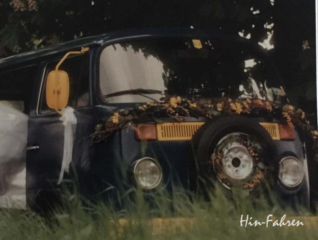 Besonderes Wohnmobil: Geschmückter VW T2