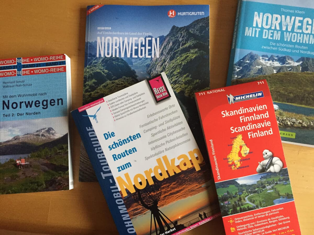 Reiseführer und Kartenmaterial für die Reisevorbereitung #Wohnmobil #Roadtrip