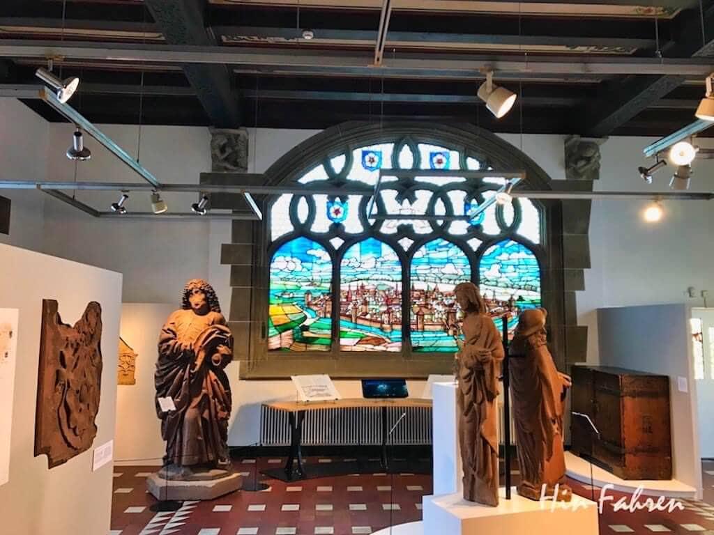 Museum Haguenau: Ausstellung von Resten aus dem Mittelalter