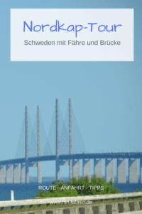Mit dem Wohnmobil zum Nordkap: Von Dänemark nach Schweden mit Fähre und Brücke #Wohnmobil #Nordkaptour #Überfahrt #Öresundbrücke
