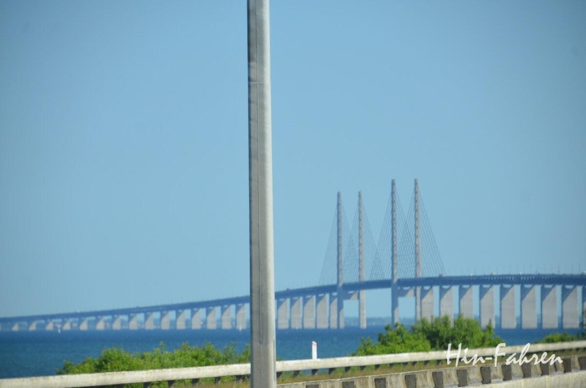 Die Örseundbrücke verbindet Dänemark mit Schweden