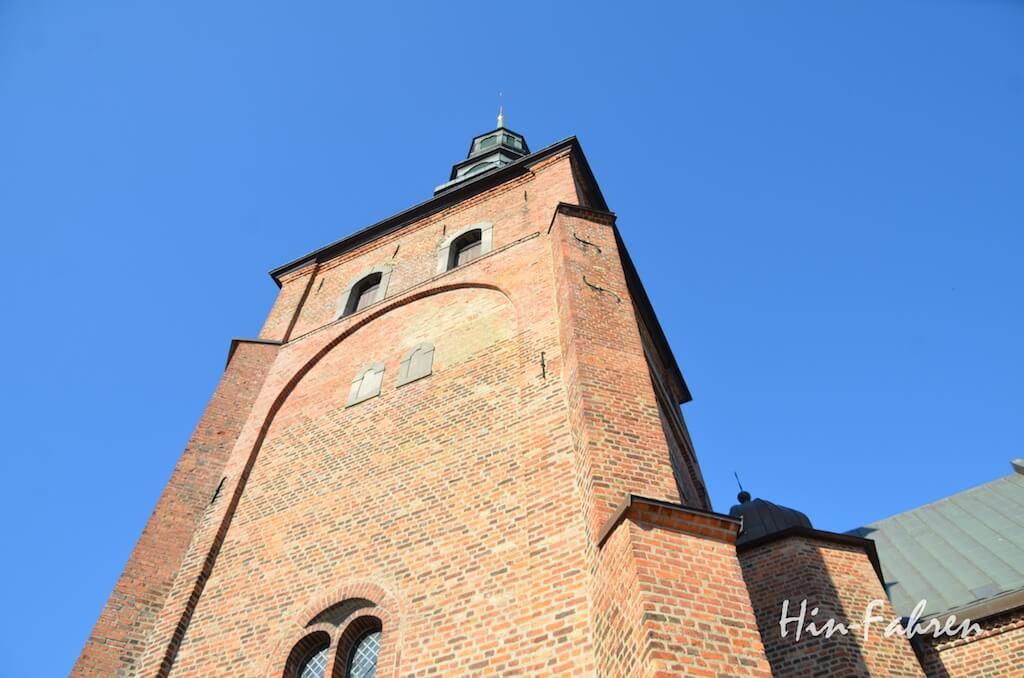 Südschweden mit Wohnmobil: Die Kirche ist das älteste Gebäude in Ystad