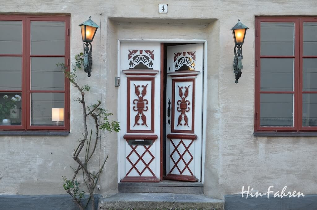 Roadtrip Südschweden mit Wohnmobil: Ein besondes schönes Haus in der Altstadt von Ystad