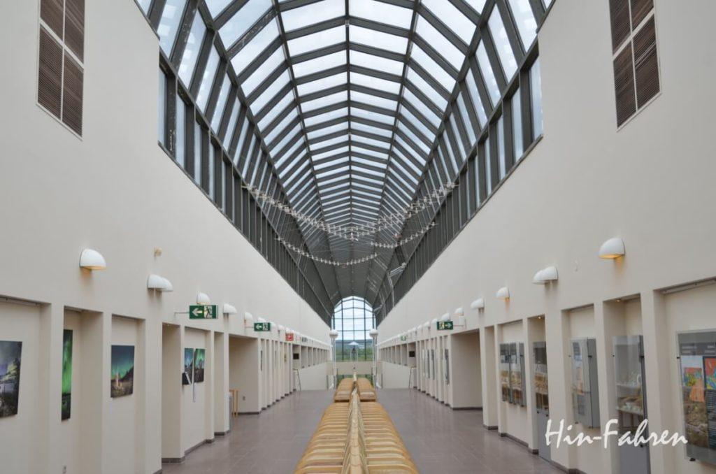 Das Gebäude des Arktikum in Rovaniemi ist sehr interessant