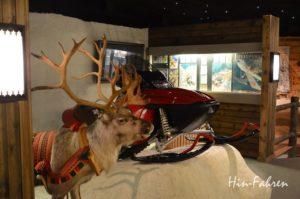 Ausstellung im Weihnachtsmanndorf in Rovaniemi, Finnland