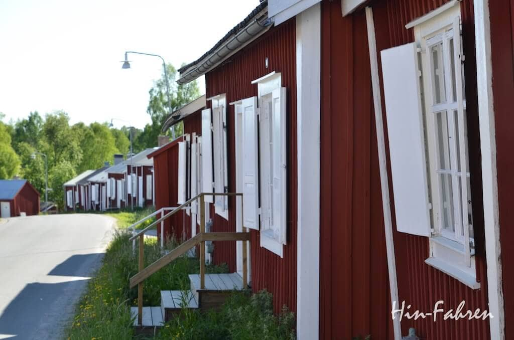 Die Gammelstad Kirchstadt in Lulea