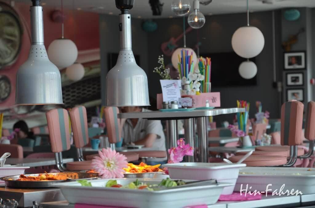 Lunchbuffet im Pink Ladies