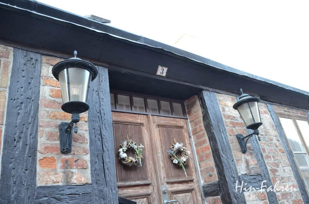 Südschweden: Fachwerkhaus in Ystad