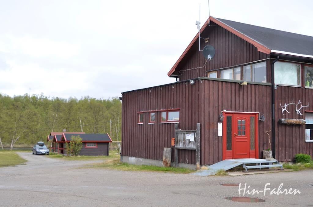 Fischercamp an der norwegisch-finnischen Grenze