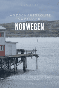 Wohnmobil-Nordkap-Tour: Mondlandschaft und Licht am Varanger-Fjord in Norwegen #Varanger #Nordkaptour