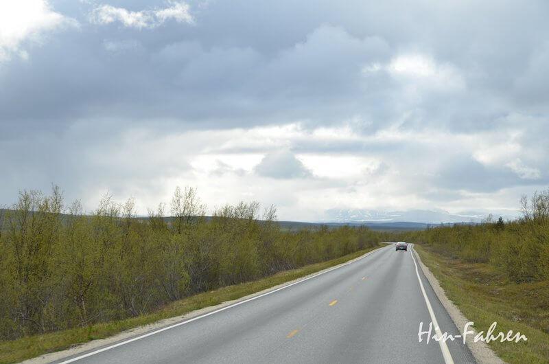 Mit dem Wohnmobil durch Norwegen: E6 bei Karasjok