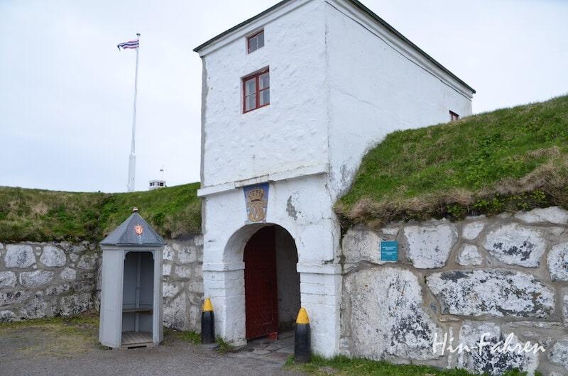 Tor zur Vardøhus Festnung auf Varanger