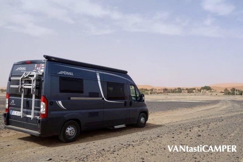 Vantasticamper mit dem Pössl 2Win unterwegs in Marokko