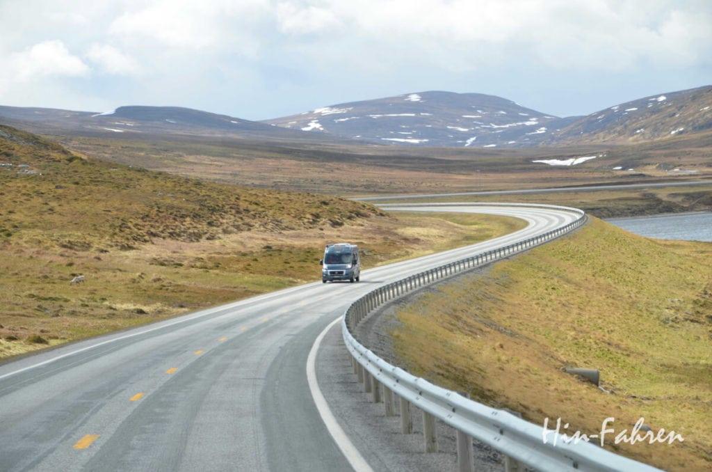 Der Weg ist das Ziel mit dem Kastenwagen
