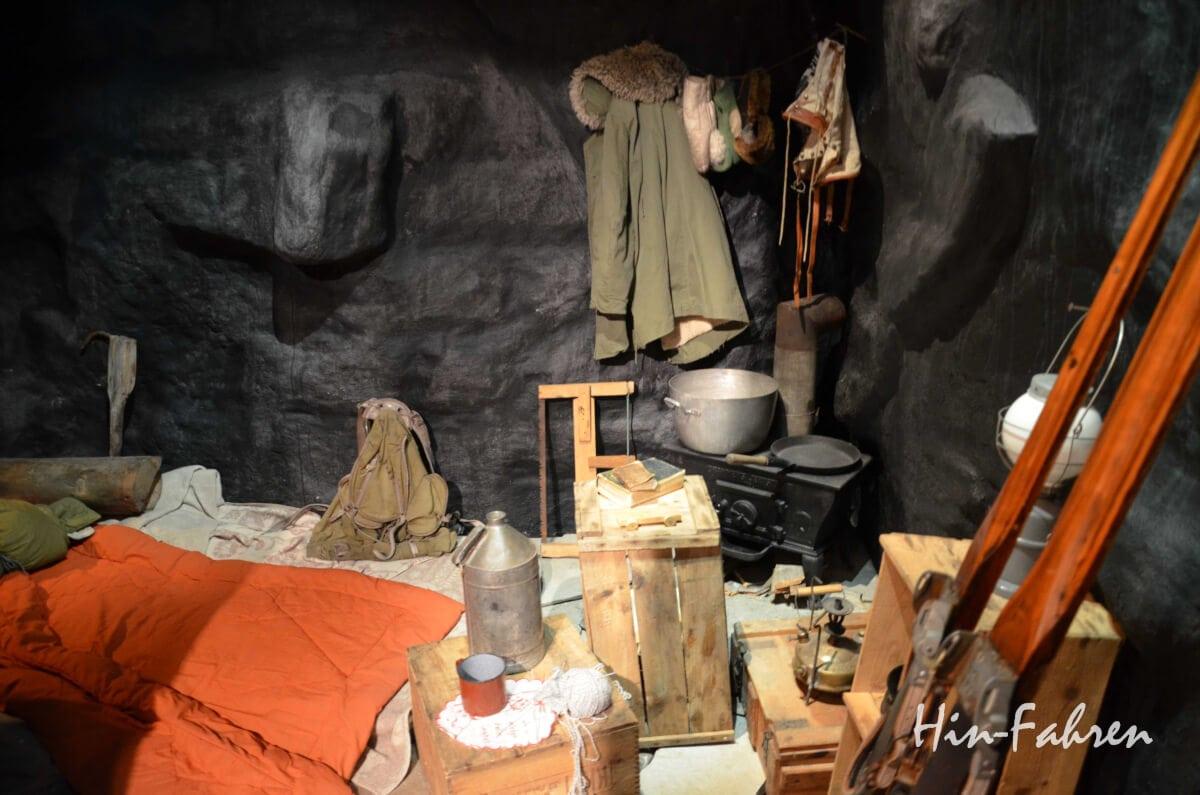 Einfachste Bedingungen in einer der Höhlen