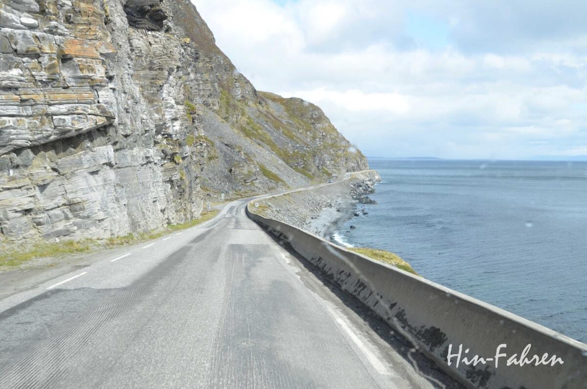 E69 auf dem Weg zum Nordkap