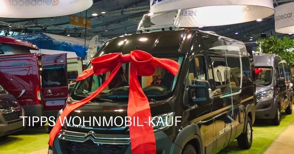 Ideal für den Wohnmobikauf ist der Besuch auf der Reisemobil-Messe