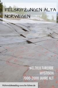 Wohnmobiltour Norwegen: Felsritzungen Alta - Weltkulturerbe #Wohnmobil #Archäologie #Steinzeit #Bronzezeit