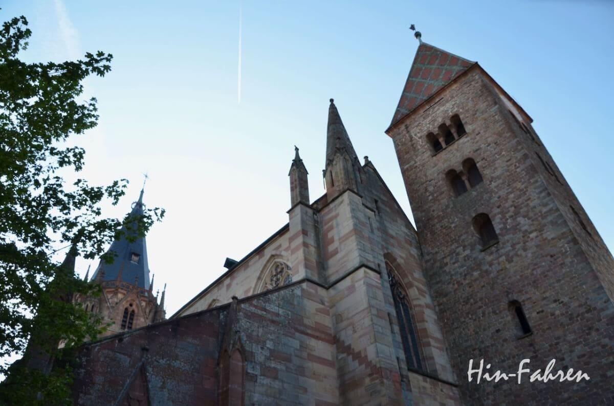 Wohnmobiltour Elsass: Romanik und Gotik in Weißenburg