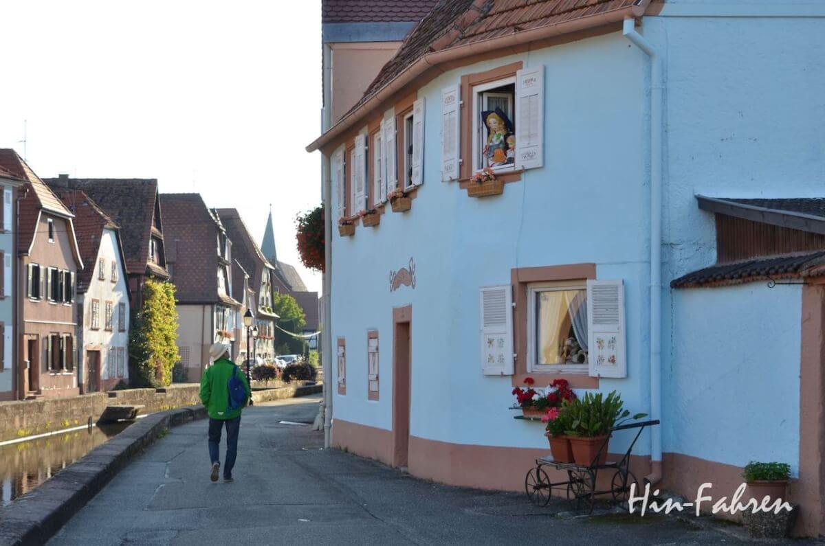 Wohnmobiltour Elsass: Weißenburg
