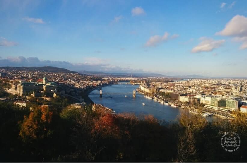 Fernweh Koch: Blick auf Budapest