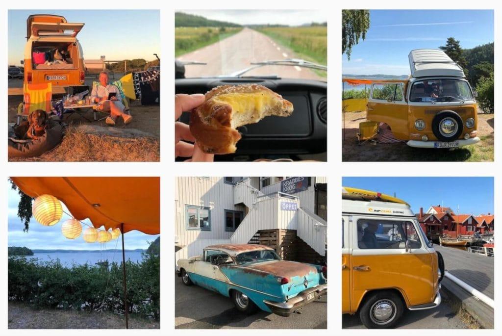 Fotos auf Instagram von Britta und Old Miss Clementine