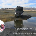 Kasten mit Inhalt: Jessi, Jens und Vanja unterwegs im CS Independent