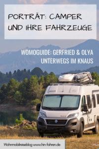 Camper im Porträt: Womoguide Gerfried ist unterwegs mit dem Kastenwagen Knaus Boxlife in Griechenland und dem Balkan. Er berichtet über die Leidenschaft fürs Campen und den Kasten. #Wohnmobil #Reise #Interview